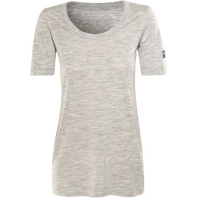 super.natural Oversize Tee - T-shirt manches courtes Femme - gris